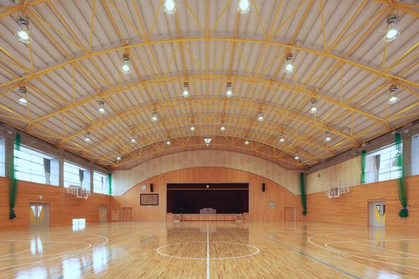 那珂市立瓜連中学校体育館(2008)