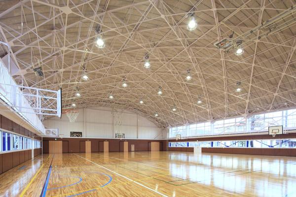 高萩市東小学校体育館(2010)