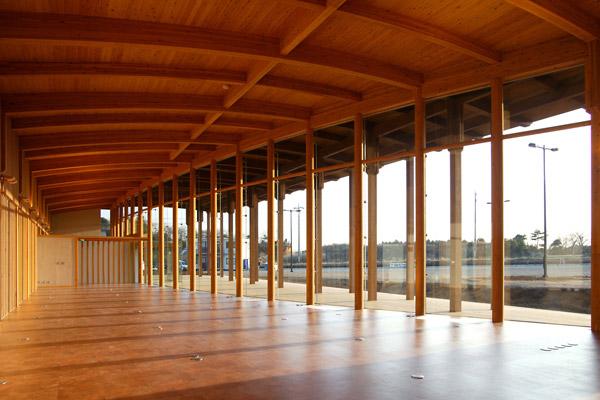 水郷県民の森ビジターセンター (2004)