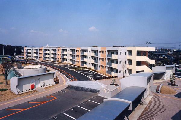 石岡市営新池台団地(2000)